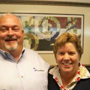 Tee Whitlow and Stu Hanckel, Dominion's CFM