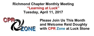 Richmond Chapter Monthly Meeting April website