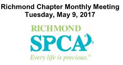 Richmond Chapter Monthly Meeting May website