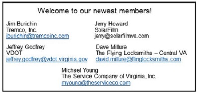 our newest membersJuly 2017