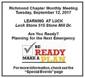 September Meeting 2017
