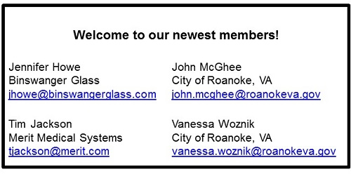 our newest members NOV 2017