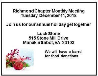 December Meeting 2018