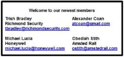 our newest members MAR 2019
